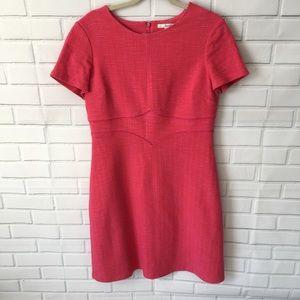 Boden pink woven dress size 12L